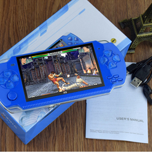 New Handheld Game Console 4.3 inch Game Machine 8GB 1WGBA Games Classic FC Game PSP Support MP4 MP5 hd broadcast PK Sony PSP3000