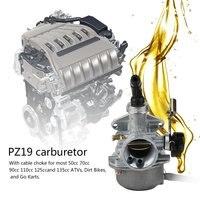 10 шт. 50cc 70cc 90cc 110cc 125cc 135 ATV Quad картинг Карбюратор CARB PZ19