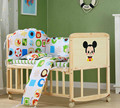 Eco-friendly Multifunction No Paint Wood Cradle Bed Newborn Cradle Shaker Cribs Bed With Rolling Wheel Baby Bed