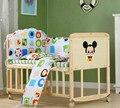 Ecológico Multifuncional Sem Pintura de Madeira Cama Berço Cama de Bebê Shaker Cama Berços Berço Recém-nascidos Com Rolamento Da Roda