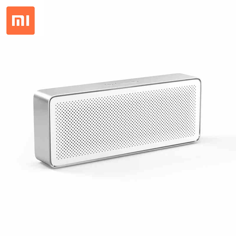 Original Xiaomi Mi Speaker 2 Square Box Bluetooth 4.2 Stereo Portable High Definition Sound Quality Speaker for Smartphone PC original xiaomi square box bluetooth speaker wireless portable stereo mini speaker new original bluetooth 4 0 for mobile phones