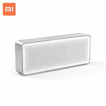 Оригинал Сяо Mi Динамик 2 квадрат Bluetooth 4.2 стерео Портативный Высокое разрешение качество звука Динамик для смартфонов ПК