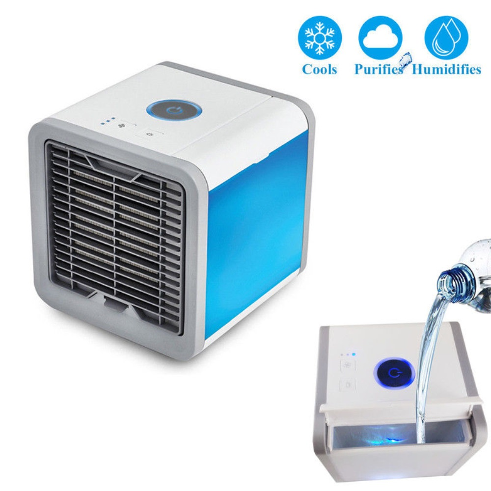 Portable Personal Space Cooler Quick &Easy Way to Cool Air Conditioner Micro USB Refrigeration Humidification Portable Personal Space Cooler Quick &Easy Way to Cool Air Conditioner Micro USB Refrigeration Humidification