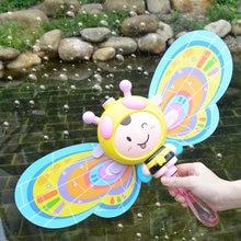 Пузырчатая машина пчела/лед пузырчатая пушка игрушка с музыкой для детей девочек Свадебный производитель вечерние летняя уличная игрушка для детей