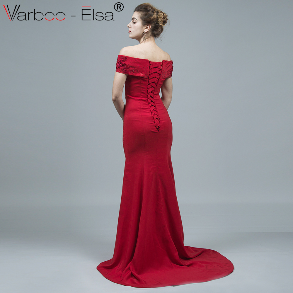 Amazing Red Prom Dresses Long Picture Collection - All Wedding ...