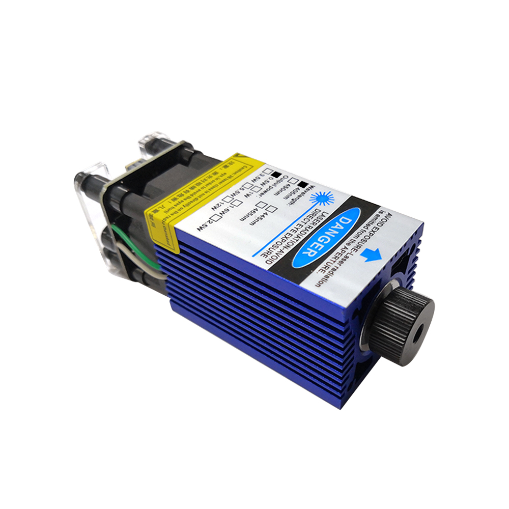 500MW 405nm Focusing Blue Laser Module Laser Engraving And Cutting TTL Module