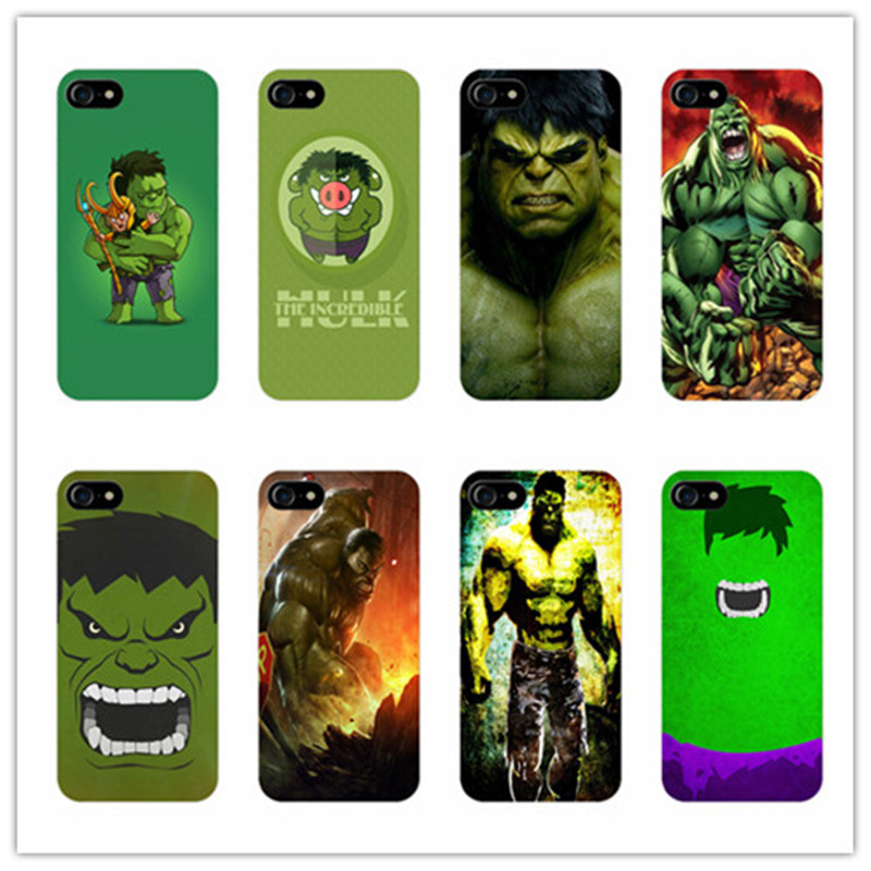 hot sale online 1cfa6 1d0a9 US $2.1 |The Avengers Green Giant Hulk Cover case for iphone 4s 5s 5c 6 6s  7 plus samsung galaxy S3 S4 S5 S6 S7 edge Robert Bruce Banner on ...