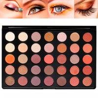 Yeni Geliş 35 Renkler/1 ADET Makyaj Göz Farı Pırıltılı Mat Göz Farı Paleti Moda Makyaj Göz Farı Toz Yılbaşı Hediye
