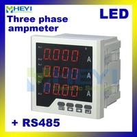 3 phase LED digital amp meter manufacturer AC digital current meters with RS485 communication
