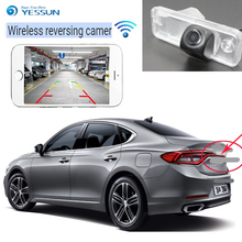 купить 2019 The new Car Rear View Back Up Reverse Parking HD Camera for Hyundai Azera HG Hyundai Grandeur 2011~2015 Waterproof CCD CAN дешево