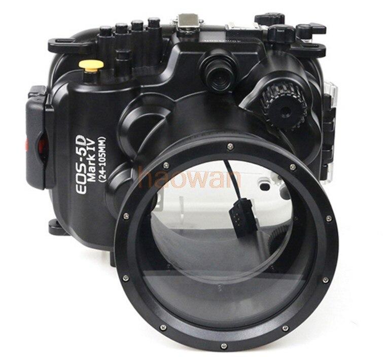 Boîtier étanche sous-marin boîtier de boîtier de caméra protecteur de sac pour Canon 5D4 5D Mark IV 24-105mm lentille