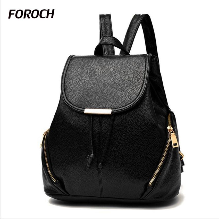 Women backpack schoolbag leather feminine backpacks female all for school bags for girls bag back to school bagpack sac a dos 78 fashion vintage backpack women youth school shoulder bag male nylon backpacks for teenager girls feminine backpack sac a dos