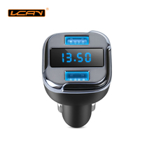 LCAV Car GPS Finding Vehicle Park Location Tracker by Mobile APP with Battery Voltage Monitor and Dual USB Charger