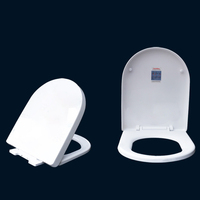U O Type Thicken Universal Slow Close Adult Toilet Seat Lid Cover WC Seat Replacement