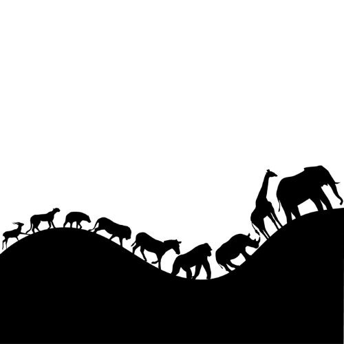 Popular African Wall DecalsBuy Cheap African Wall Decals Lots - Vinyl wall decals animals