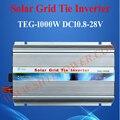 تيار مستمر 12 فولت 24 فولت إلى التيار المتناوب 90-130 فولت 190-260 فولت الشبكة ربط العاكس للطاقة الشمسية 1000 واط مع وظيفة MPPT