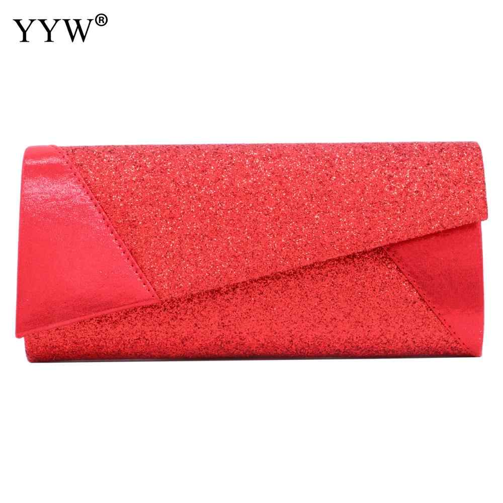 New Design Luxury Women S Day Clutches Bling Sequins Envelope Evening Party  Hand Bag Chain Prom Weeding 8fa2a5c77f69b