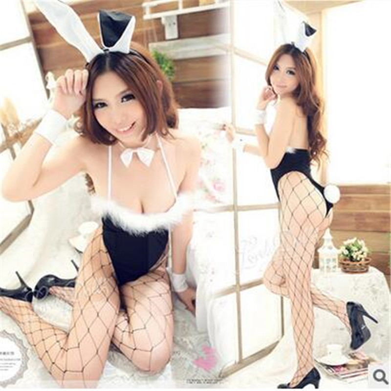 Hot Sexy Lingerie Bunny Dress Cosplay Nightwear Uniform Bodysuit sexy costumes font b sex b font