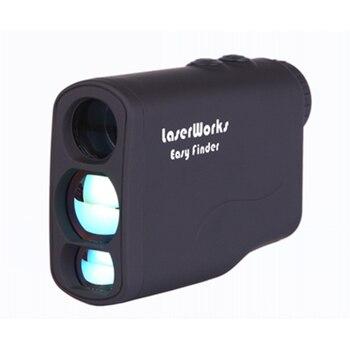 LaserWorks Rangefinder 600M/Y 6X Magnification,  Golf Range finder, Flag Lock for Tournament Outdoor Hunting Finder - discount item  34% OFF Measurement & Analysis Instruments