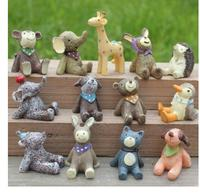 Resin for 13 pieces looking at the sky small animal manufacturers direct sales wholesale household crafts sculpture statue