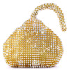 Rhinestones Women Clutch Bags Diamonds Finger Ring Ladies Vintage Evening Bags Crystal Wedding Bridal Handbags Purse