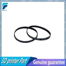3D yazıcı kemer kapalı döngü kauçuk GT2 zamanlama kemer 200-2GT-6 uzunluğu 110/112/200mm/280mm/400/610/852/genişlik 6mm