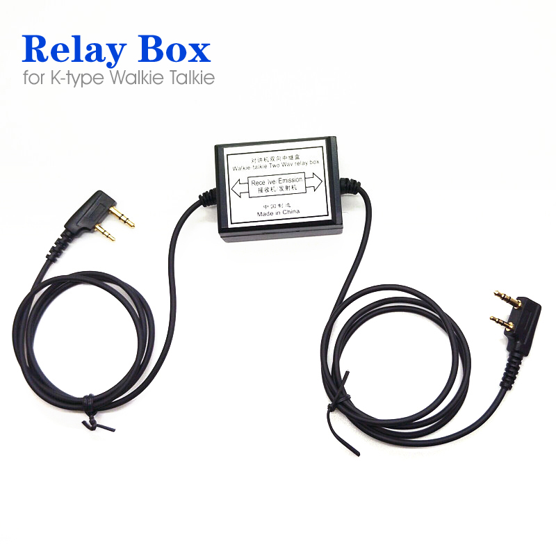 Walkie Talkie Repeater Box for Handheld Radio Kenwood Baofeng Two Way Relay Box
