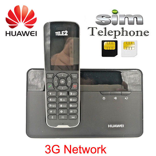 US $68 0 |Cordless Phone & Handsets Huawei F685 DECT Desktop Home Phone W/  Sim Card Slot -in Modems from Computer & Office on Aliexpress com | Alibaba