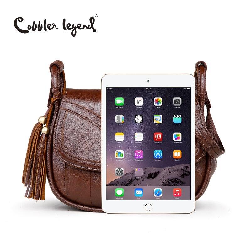 Cobbler Legend marque Designer 2019 femmes en cuir véritable Vintage unique sac à bandoulière femmes sacs à bandoulière sacs à main pour dames - 6