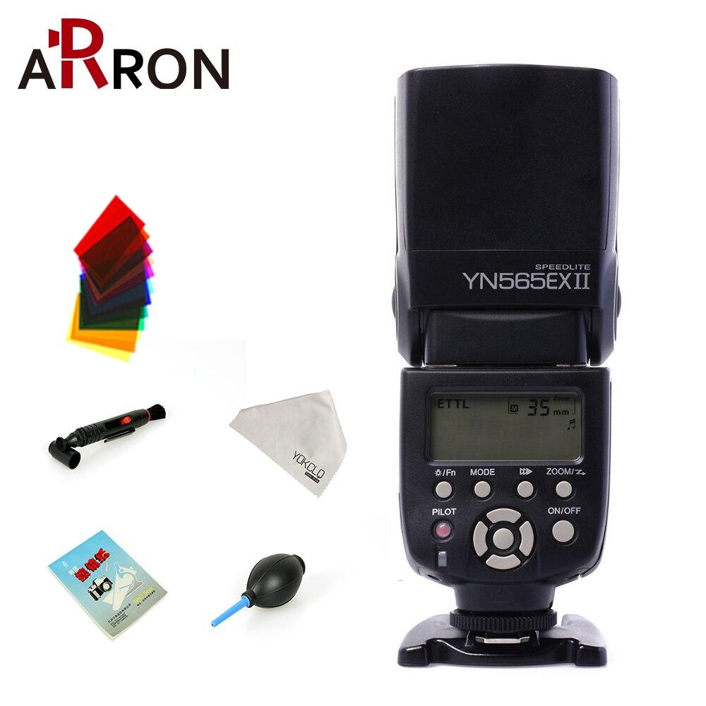 Yongnuo Flash YN565EX II Pour Canon 6d 60d 5d Mark iii 550d 1100d 650d 600d 700d 7d 5d2 Caméra Sans Fil TTL Flash