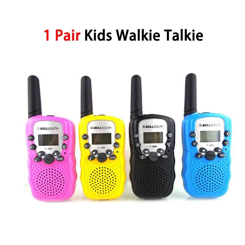2pcs Retevis RT388 Kids Walkie-Talkie Children Toy Radio 0.5W PMR PMR446 FRS VOX Flashlight Handheld 2 Way Radio Hf Transceiver