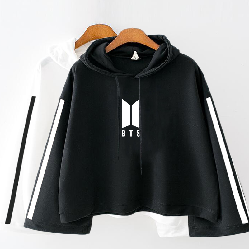 8a0c860761f Buy bts crop top hoodies and get free shipping on AliExpress.com