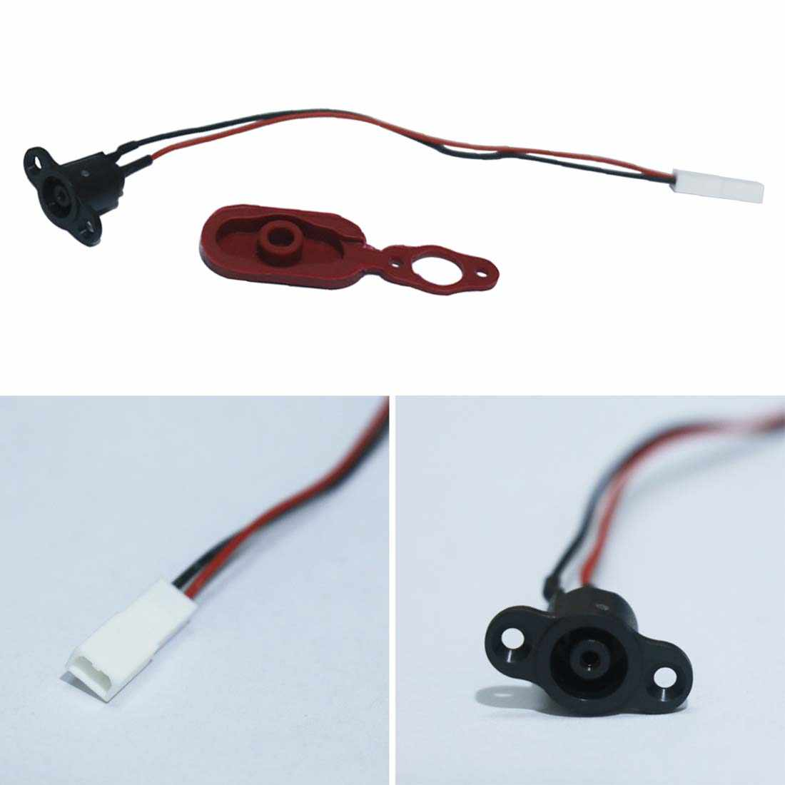 New Skateboard Replacement Battery Power Charger Line Hole Rubber Plug Silicone Cap for XIAOMI Mijia M365 Electric Scooter