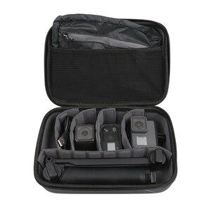 Image 5 - ללכת פרו נסיעות שקית אחסון עמיד למים תיבת גדול גודל מקרה עבור GoPro גיבור 8 7 6 5 4 3 + מפגש Xiaomi יי 4K Eken מצלמה תיק