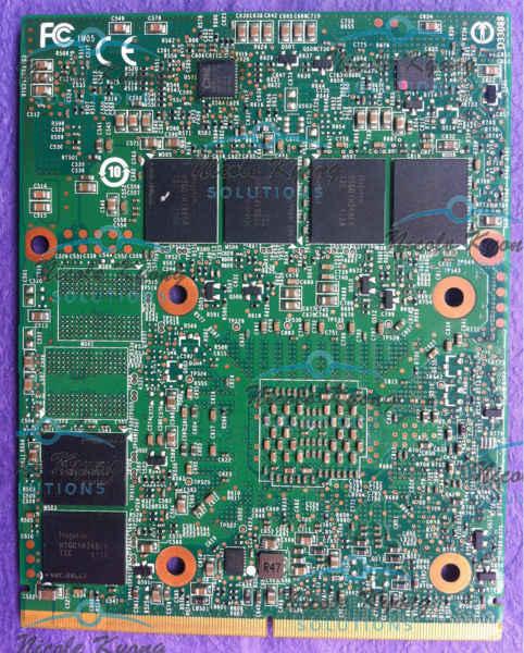 GTX 570M GTX570M 1,5 GB DDR5 MXM 3.0b tarjeta VGA GTX 260M 460M actualización MSI 16F1 16F2 1761 GX660R GT660 GT663 GT683