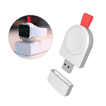 Smart watch USB wireless charger magnetic charging pad sunplus chip charge for Apple watch series 4 3 2 1 edition hermes Nike+