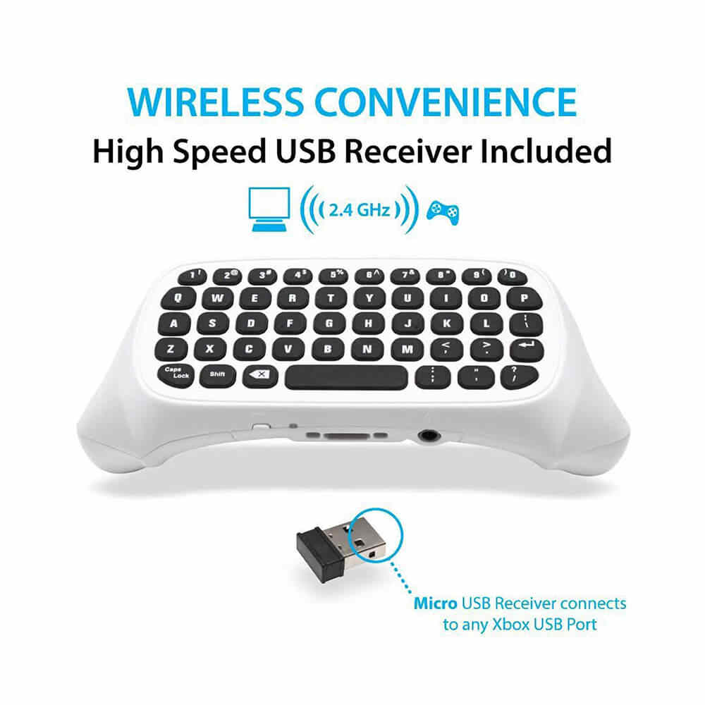 hight resolution of  acgam mini wireless 2 4g mini wireless keyboard message for microsoft xbox one controller chatpad for