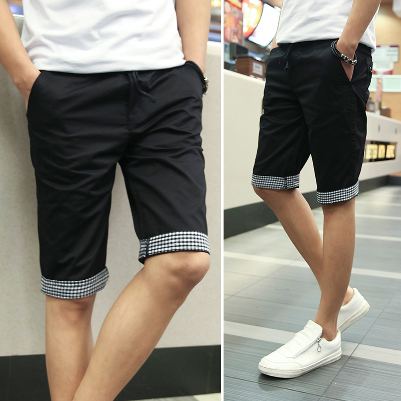 Aliexpress.com : Buy Summer New 2016 Men Shorts Plaid Ruched ...