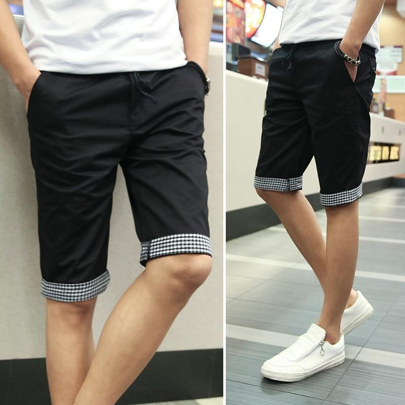 Aliexpress.com : Buy Summer New 2016 Men Shorts Plaid Ruched ...