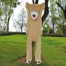 Бесплатная доставка Большой 340 см гигантский ненабитый Пустой Американский плюшевый мишка скины оболочка животные детские плюшевые мягкие игрушки подушка