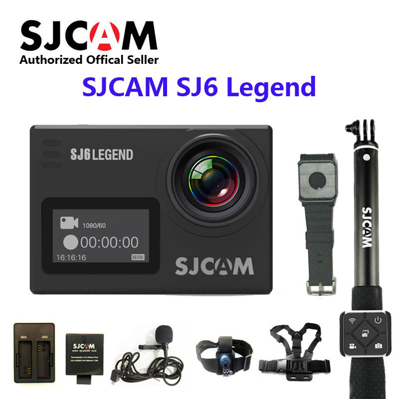 Original SJCAM SJ6 LEGEND 4K 24fps Ultra HD Notavek 96660 Waterproof Action Camera 2.0