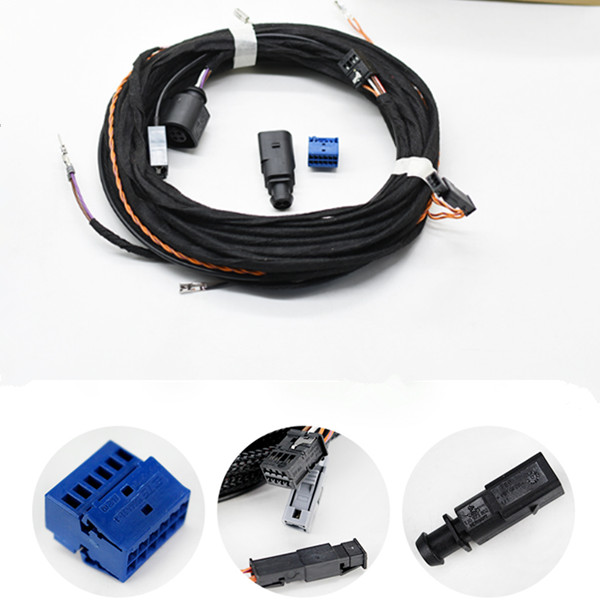 volkswagen vw passat  golf  gti  logo turn standard rear view camera rvc cable wires