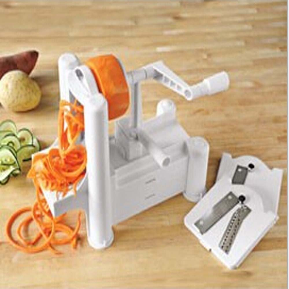 2016 New 1 Piece Fruit Garnish Cutter Peeler Spiral Fruits Vegetable Curly Slicer Kitchen Tools FREE SHIPPING H1354