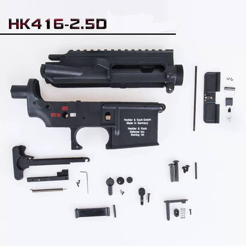 Zhenduo Jouet LDT HK416 2.5 Génération Nylon Starter Edition Nylon Fishbone Machine Grip Gel Boule blaster Jouet accessoires d'armes à feu
