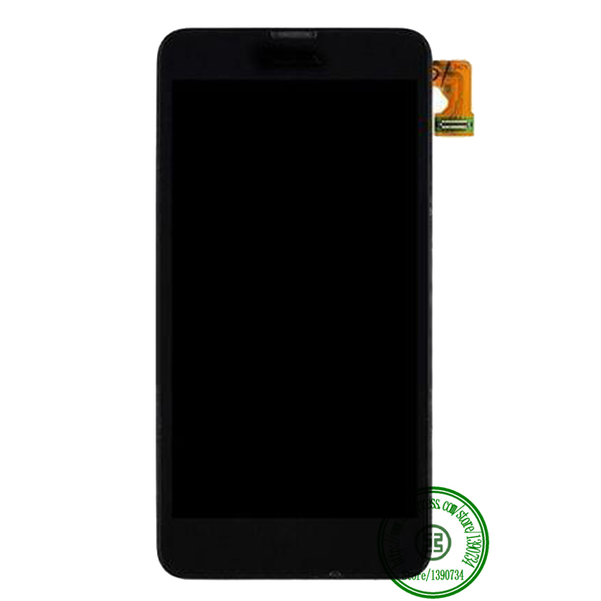 TOP Quality Full LCD Display with Touch Screen Digitizer Assembly + Frame For Nokia Lumia 630 Replacement Parts Free shipping