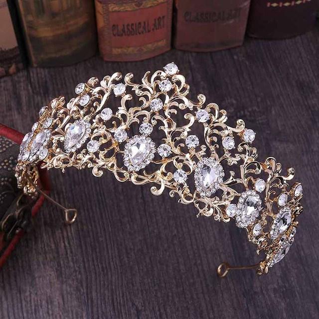 Princess Leaf Shape Crystal...