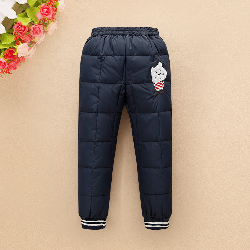 2016 new winter children's clothing kids down pants baby ...