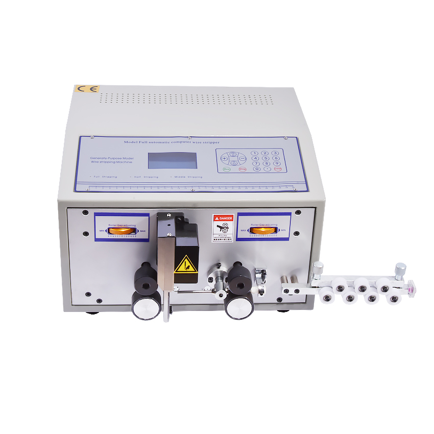 SWT508C-II Computer Automatic Wire Stripping Machine,Fast Speed Stripping 1-9999m Computer Cable Wire Cutting&Stripping Machine swt508c ii automatic wire stripping aachine model swt508d 110 220v two wheel drive
