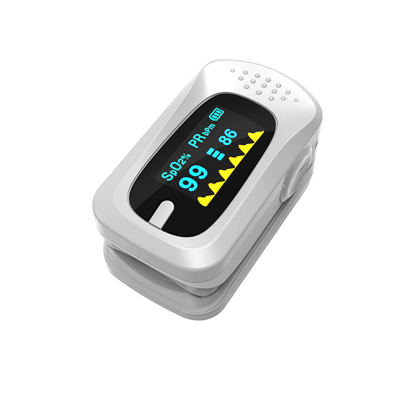 Portable Pulse Oximeter Pouch Setting Alarm Beep Fingertip SPO2 Pulse Rate Oxygen Monitor Medical Finger Pulse Saturation Meter (2)