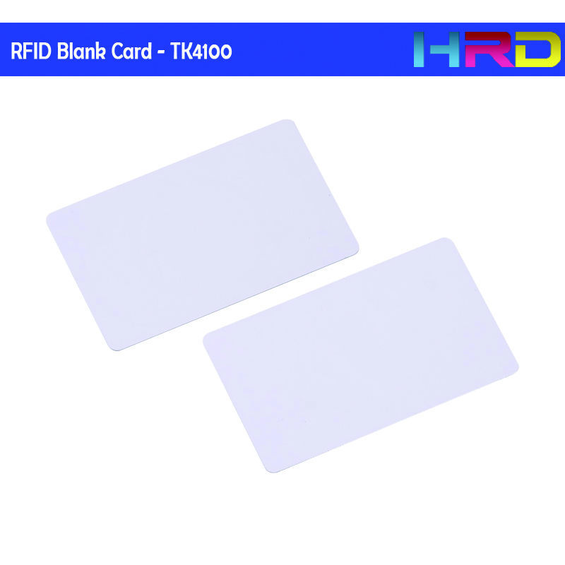 [100pcs/lot] ID/IC Rfid Tk4100 Em4100 Em4200 Blank White Card Low Frequency 125khz Read Only Access Control Electronic Lock Card